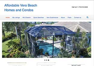 affordable vero beach homes for sale